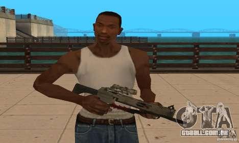 Besta de Black Ops para GTA San Andreas segunda tela