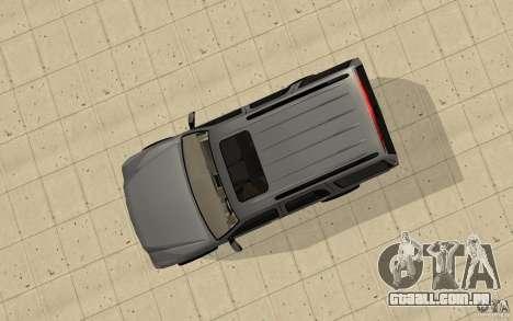 Cadillac Escalade para GTA San Andreas vista direita