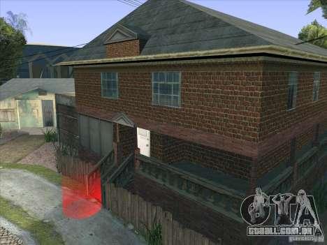 Grove Street Retextured para GTA San Andreas sexta tela