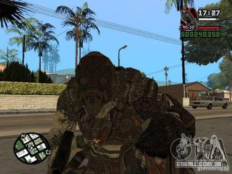 Lokast grunhido de Gears of War 2 para GTA San Andreas segunda tela