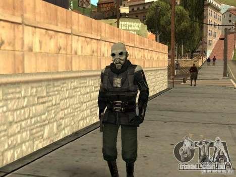 Cops from Half-life 2 para GTA San Andreas segunda tela