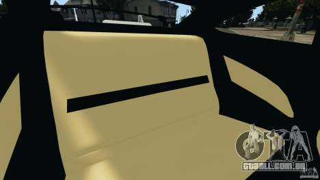 Mercedes-Benz C63 AMG 2012 para GTA 4 vista lateral