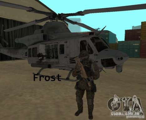 Frost and Sandman para GTA San Andreas segunda tela