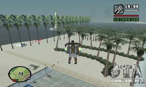 Praia do paraíso para GTA San Andreas