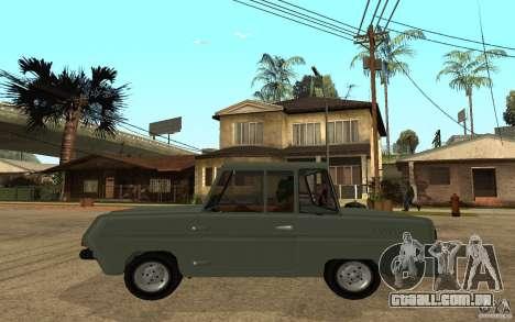 Dkns Inválido para GTA San Andreas esquerda vista