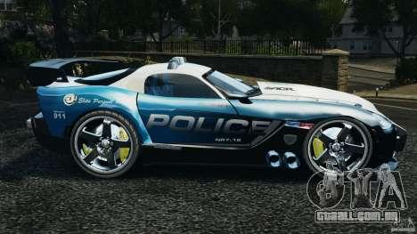 Dodge Viper SRT-10 ACR ELITE POLICE [ELS] para GTA 4 esquerda vista