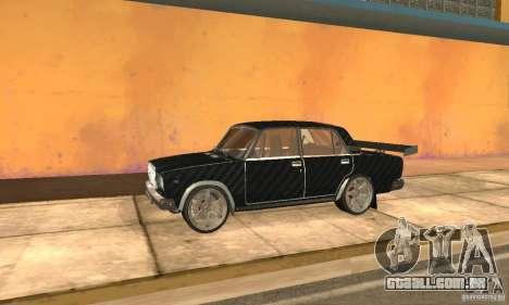 LADA 2107 Turbo para GTA San Andreas
