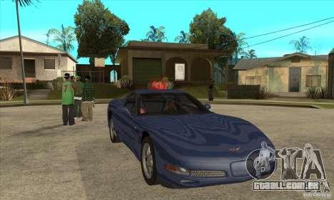 Chevrolet Corvette 5 para GTA San Andreas
