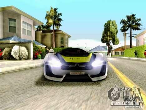 Citroen GT Gymkhana para vista lateral GTA San Andreas