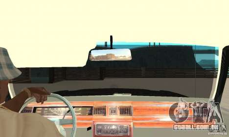 Ford LTD Crown Victoria 1985 MIB para GTA San Andreas vista direita