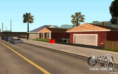 Novas texturas para casa Millie para GTA San Andreas terceira tela