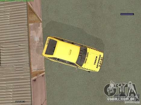 AZLK Moskvich 2141 táxi v2 para as rodas de GTA San Andreas