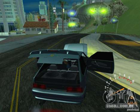 VAZ 2113 Ferarri para GTA San Andreas traseira esquerda vista