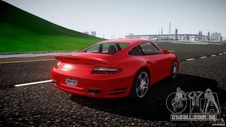 Porsche 911 Turbo V3 (final) para GTA 4 vista interior
