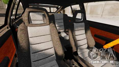 Alfa Romeo GTV6 1986 para GTA 4 vista interior