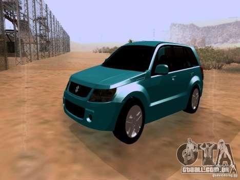 Suzuki Grand Vitara para GTA San Andreas