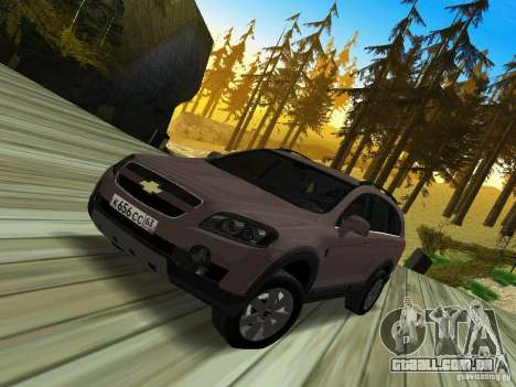 Chevrolet Captiva para GTA San Andreas