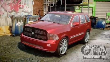 Dodge Durango [Beta] para GTA 4