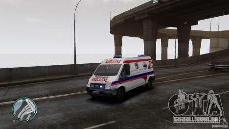 Ford Transit Ambulance para GTA 4