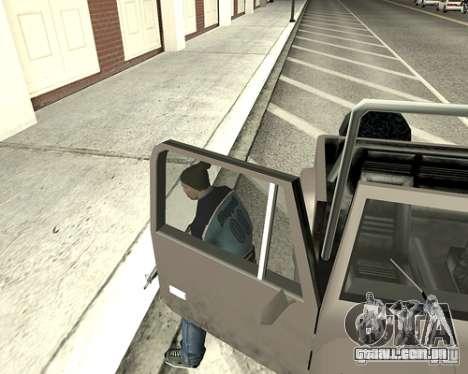 Tampa do sistema para GTA San Andreas oitavo tela