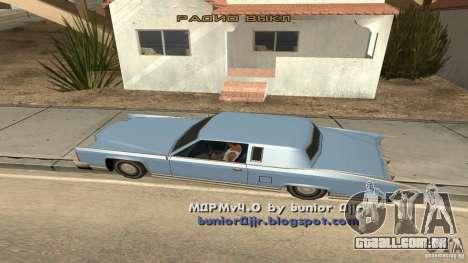 Music car v4 para GTA San Andreas segunda tela