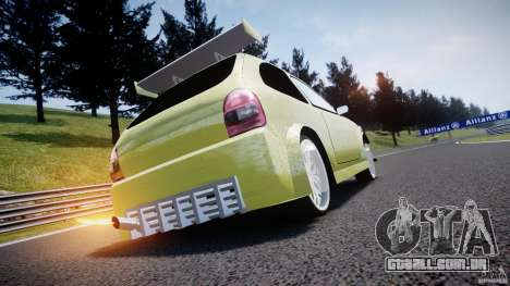 Chevrolet Corsa Extreme Revolution para GTA 4 vista superior