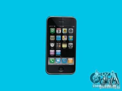 Iphone para GTA San Andreas por diante tela