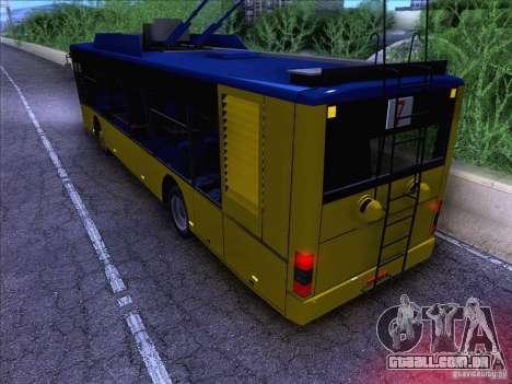 ElectroLAZ-12 para GTA San Andreas esquerda vista