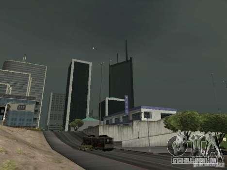 Weather manager para GTA San Andreas segunda tela