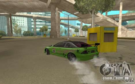 Toyota Altezza Toy Sport para GTA San Andreas vista direita