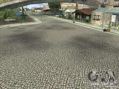 Grove Street Retextured para GTA San Andreas oitavo tela