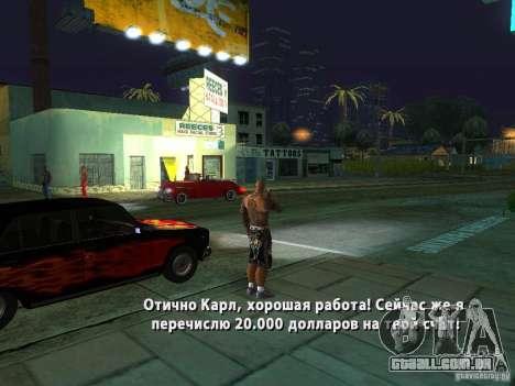 Killer Mod para GTA San Andreas oitavo tela