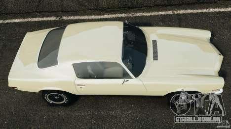Chevrolet Camaro 1970 v1.0 para GTA 4 vista direita