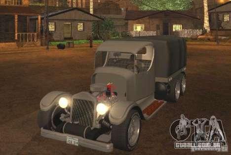 Ford Model-T Truck 1927 para GTA San Andreas esquerda vista