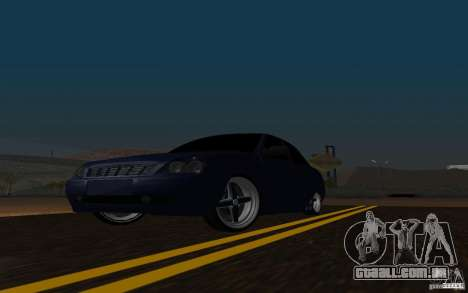 LADA PRIORA carro tuning para GTA San Andreas