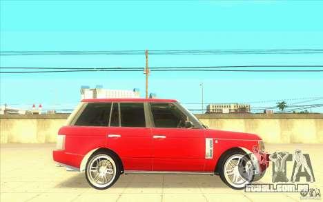 Arfy Wheel Pack 2 para GTA San Andreas por diante tela