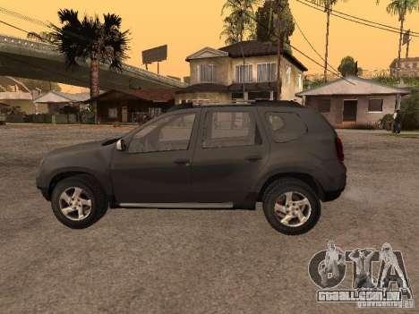 Dacia Duster para GTA San Andreas vista direita