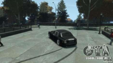 Rolls-Royce Phantom para GTA 4 traseira esquerda vista
