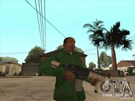 M4 de Call of Duty para GTA San Andreas segunda tela