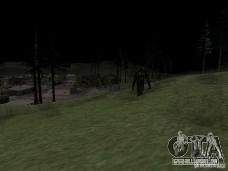 Homem de neve para GTA San Andreas segunda tela