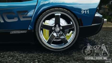Dodge Viper SRT-10 ACR ELITE POLICE [ELS] para GTA 4 vista de volta