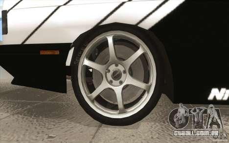 BMW E30 M3 - Coupe Explosive para GTA San Andreas vista superior