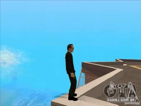 Matrix Skin Pack para GTA San Andreas oitavo tela