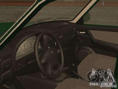 GAZ 3110 v. 2 para GTA San Andreas vista traseira