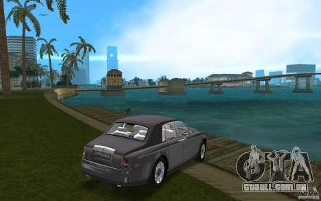 Rolls Royce Phantom para GTA Vice City vista direita