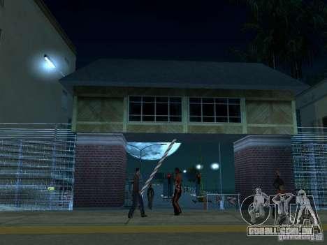 Arraste a rota v 2.0 Final para GTA San Andreas segunda tela