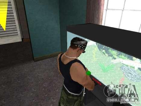 Aquário para GTA San Andreas por diante tela