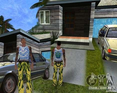 CJ VDV para GTA San Andreas