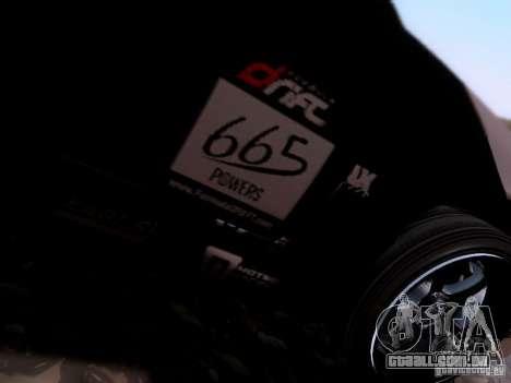 Nissan Silvia S14 Matt Powers v4 2012 para GTA San Andreas vista traseira