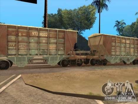 Vagões para GTA San Andreas